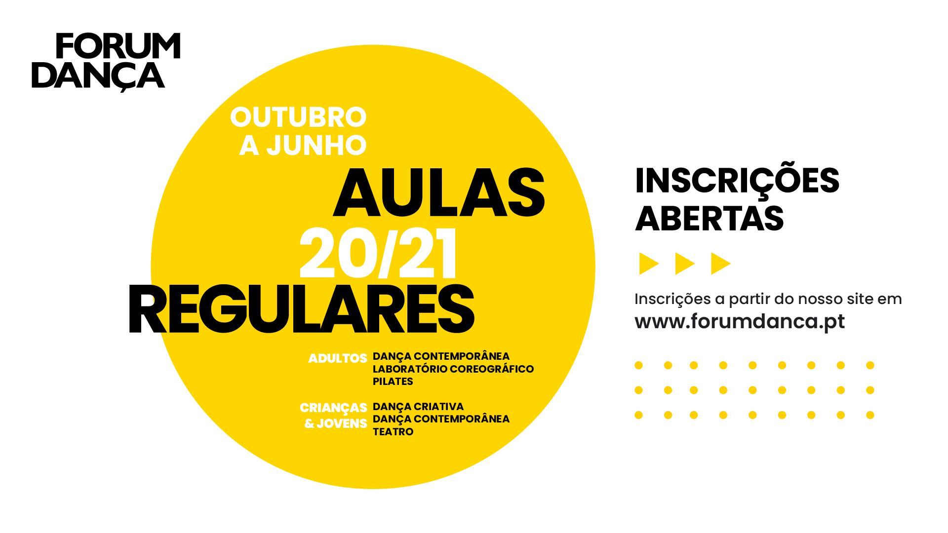 Forum Dança - Aulas Regulares 2020/21