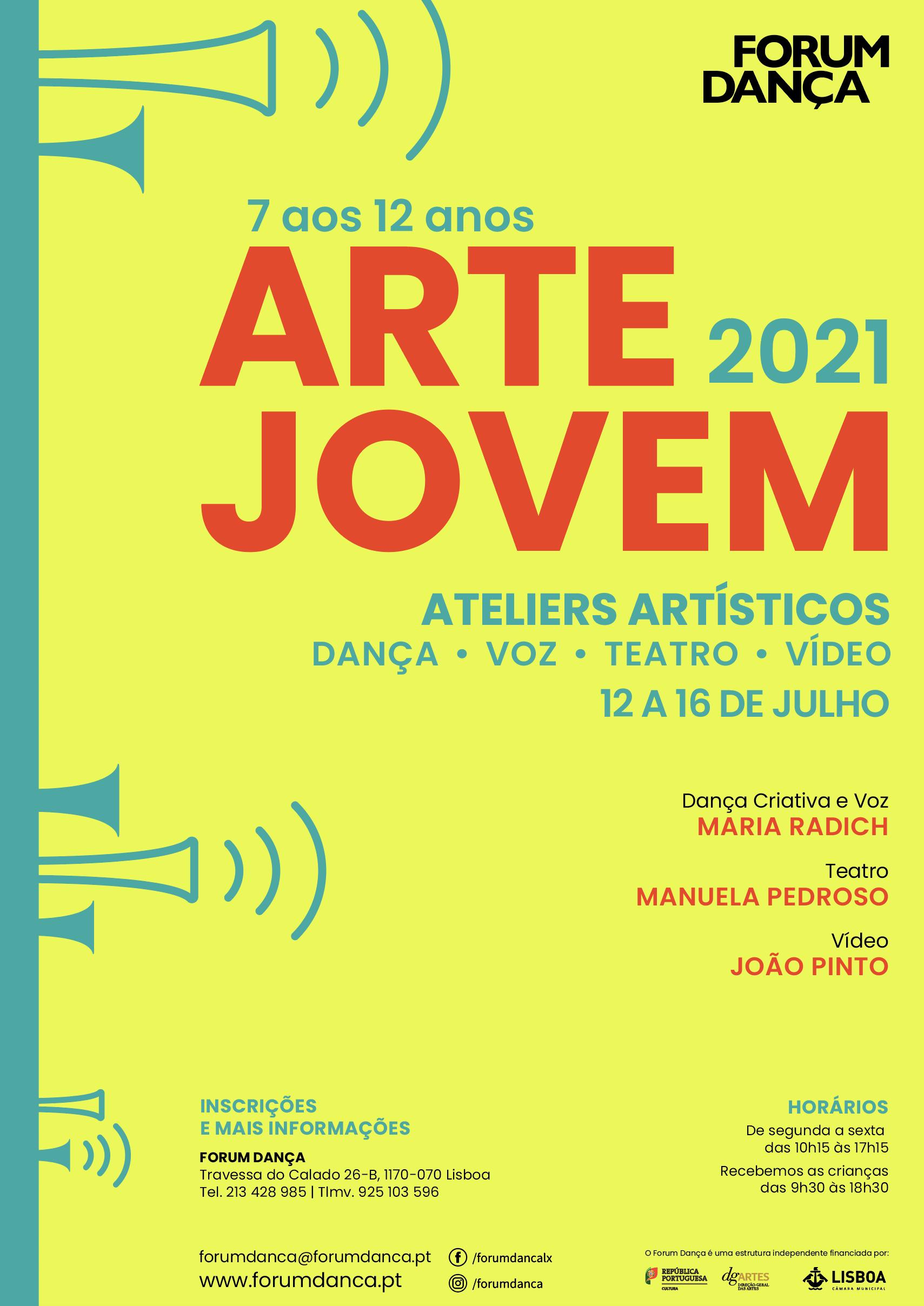 CARTAZ ARTE JOVEM 2021